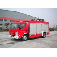 Three Seats Light Fire Truck Japan Chassis With One Key Automatic Reset
