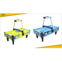 Buy cheap Oem Coin Operated Air Hockey Machine / Token Game Machine With Lifelike Sound from wholesalers