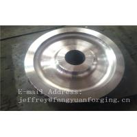 China 4140 42CrMo4 SCM440 Alloy Steel Rail Forged Wheel Blanks Quenching And Tempering Finish Machining Mine Industry factory