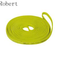 Buy cheap 10 mm Pitch Toothed Polyurethane Timing Drive Belts High Abrasion Resistance from Wholesalers