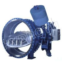 China Dia. 50 - 3000 mm  hydraulic counter weight Flanged Butterfly Valve for Hydropower Project on sale