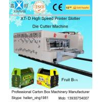 Buy cheap Auto High Speed Corrugated Carton Printing Slotting Die Cutting Machine from Wholesalers