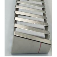 Buy cheap Trapezoid Shaped N52 Industrial Neodymium Magnets Strong High Working Temperature from Wholesalers
