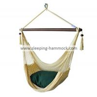 Buy cheap Large Caribbean Hammock Chair Creamy , Outdoor 2 Person Hammock Swing Chair With Stand from Wholesalers