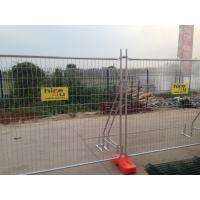 Buy cheap Q235 Steel Temporary Fencing , Site Security Fence Panels High Strength from Wholesalers