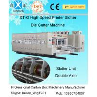 Buy cheap Fully Automatic Corrugated Carton Box Rotary Die Cutting Machine 30kw from Wholesalers