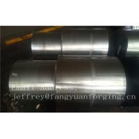 China 42CrMo4 SCM440 AISI 4140 Alloy Steel Forged Shaft Blanks Quenching And Tempering Rough Machining factory