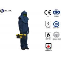 China Dupont Mens PPE Safety Wear Suits Flash Protection Multilayer Arc Flash Protective on sale