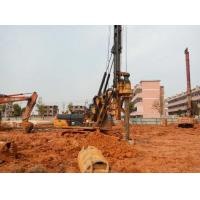 1M Max Drilling Dia Pile Driving Equipment With CAT 318D Excavator Chassis