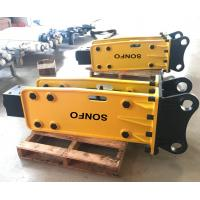 China Sale new tech hydraulic rock breaker different type of hammer drill for mini excavators on sale