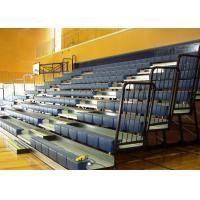 Indoor Athletic Venues Retractable Bench Seating Various Retractable Chair System