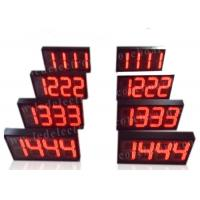 China Semi - Outdoor Digital Price Sign Gas Station Regular Red Color 12'' 300mm factory