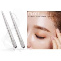 China Stainless Steel Microblading Pen Permanent Makeup Tools Autoclavable Semi Eyebrow Manual Pen factory