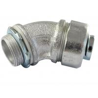 China Durable Malleable Iron Conduit Fittings , 45 Degree Conduit Fitting Firm Structure factory
