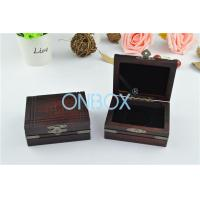 Buy cheap Matt Painting Finish Ancient Style Wooden Display Box For Jewelry / Gift from Wholesalers