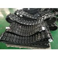 China Grey / Black Excavator Rubber Tracks 200mm Wide For Yanmar Wb500 Ym10 Ymd60 factory