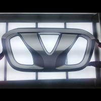 China LED car logo door light,branded car names and logos for display on sale