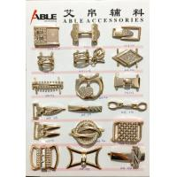 Buy cheap A15 A16 High End Custom Metal Zinc Alloy Buckle Into Shoe / Bag Decorative Fitting from Wholesalers