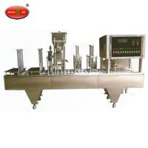 China Automatic Coffee Capsule Filling Machine / Nespresso Coffee Pod Filling factory