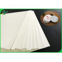 Buy cheap Good Water Absorption 1.4mm 1.6mm 1.8mm White Absorbent Paper For Coaster Board from wholesalers