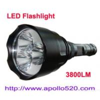 Quality 3800lumens Led Flashlight Super Bright for sale
