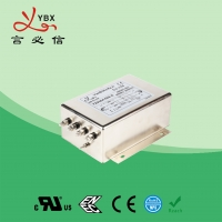 China 100A Three Phase Inverter EMI Filter / Power Inverter Noise Filter factory