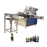 China PET Bottle Filling Capping Machine , PLC Controller Filling Sealing Machine factory
