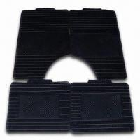 China Black Car Mat with Universal Design that Fits All Car Models, OEM Orders are Welcome factory