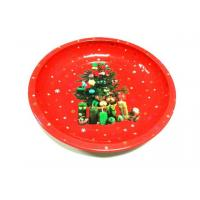 Buy cheap Metal Tin Plate Restaurant Circle Serving Trays For Cookie / Candy from Wholesalers