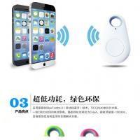 China Black Electronic Smart Anti Lost Finder Pet Tracker Bluetooth For Custom APP factory