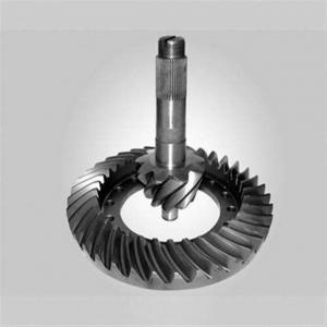 China C45E 1030 Carbon Steel Roller Mill Bevel Pinion Gear factory