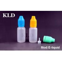 Buy cheap Colorful cap electronic cig liquid 50ml tamperproof plastic dropper bottle from Wholesalers