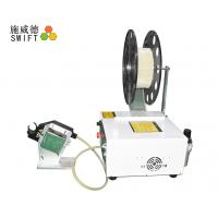 PLC Control Cable Tie Tensioning Tools , Automatic Zip Tie Machine Small Volume