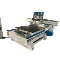 China Servo Motor 3D CNC Wood Carving Machine /  Woodworking Router Machine Hand Wood on sale