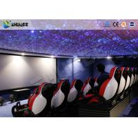 China 30 People Motion Chairs XD Theatre With Cinema Simulator System / Special Effect factory