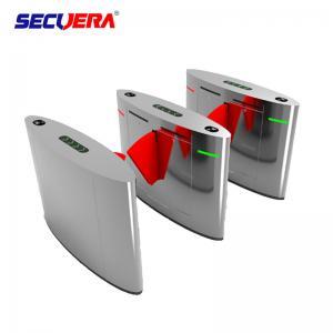China Face recognition Intelligent Flap Turnstile Flap Barrier turnstile barrier gate For Entrance Security factory