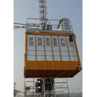 Buy cheap Personnel Construction Material Hoist Payload Capacity 2000Kg With Q345 Steel Material from Wholesalers