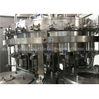 Buy cheap 6.57KW Power Carbonated Drink Filling Machine PE Srew Cap For Gas Contained Beverage from Wholesalers
