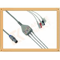 Biosys ECG Patient Cable 6 Pin One Piece 3 Leads Grabber AHA