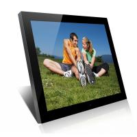 Buy cheap Acrylic 19 Inch High Resolution Digital Picture Frame With Clock And Calendar from Wholesalers