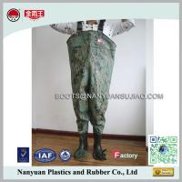 China PVC Cheap Long Water Proof Breathable Chest Waders Fishing Boots on sale