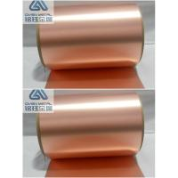 Buy cheap 35um Double Shiny Copper Foil Sheet Roll With High Content Cu from Wholesalers