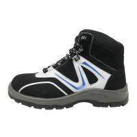 China Impact Absorbing Mens Comfortable Work Shoes 3 / 16 Depth Insole Steel Cap Work Boots factory