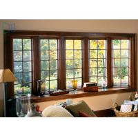 Buy cheap Aluminium Casement Waterproof Double Glazing Window Light and Modern Material from Wholesalers