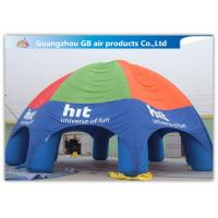 China Durable Inflatable Air Tent Inflatable Spider Dome Tent For Advertising Service factory