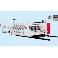 Buy cheap PLC Control Flexo Printer Slotter Machine For Corrugated Box 2 Colors High Speed from Wholesalers