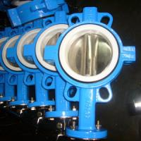 Buy cheap Lever Op Split Butterfly Valve SS316 Disc PN16 Stable Performance Long Service Life from Wholesalers