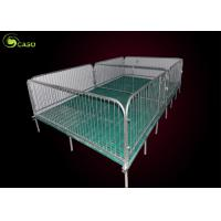 China Easy Install Pig Weaning Pen Galvanized Swine Nursery Pens 2.5 Steel Tube factory