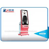 Interactive Touch Screen Digital Advertising Kiosk , Photo Booth Lcd Advertising Screen