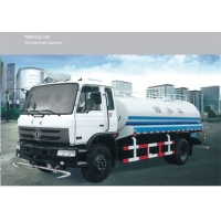 China 8400*2480*2810mm Special Purpose Vehicles 9L Water Tank Sprinkler Truck factory